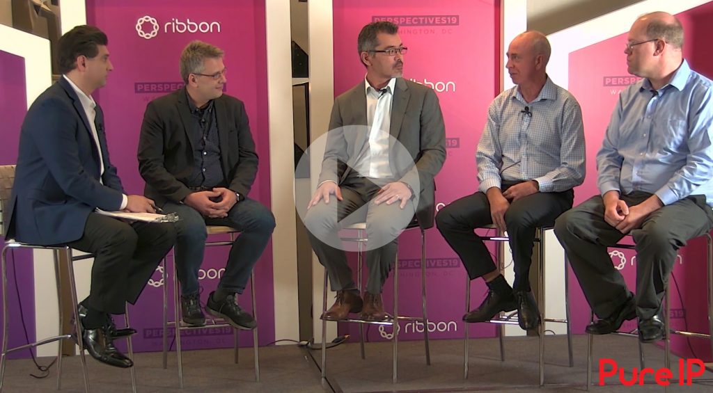 Video of Ribbon Perspective19 panel explaining how Microsoft Teams is revolutionizaing enterprise voice